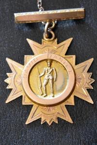 Blackwarry Medallion. Courtesy of Mrs. Margery Missen, Yarram.