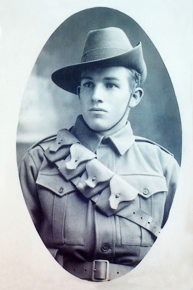 Trooper Frederick Bird. Photo courtesy of Yarram and District Historical Society.