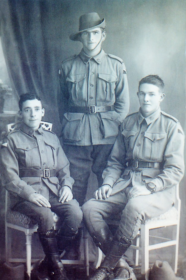 Frederick Bird is seated on the right. Photo courtesy of Yarram and District Historical Society.