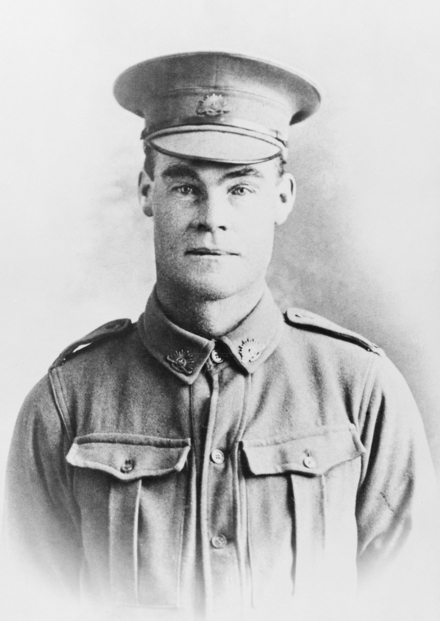 David Frederick Livingston. Courtesy Australian War Memorial