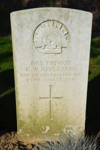 Puchevillers British Cemetery, 2013