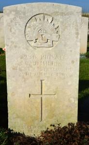 Puchevillers British Cemetery 2013