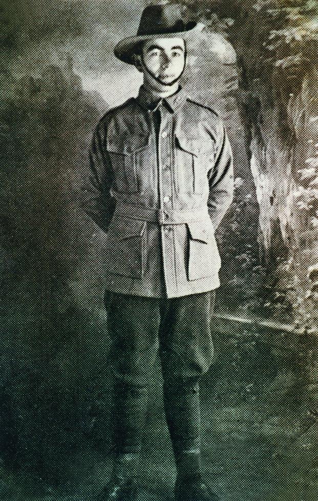 Private G E Jeffs, courtesy Yarram & District Historical Society