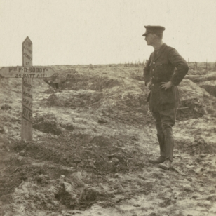 Original grave: Pte. P D Boddy, courtesy Australian War Memorial