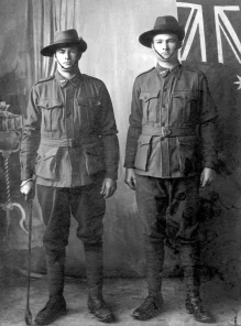 Archibald (left) and George Paterson, courtesy Colin Coomber