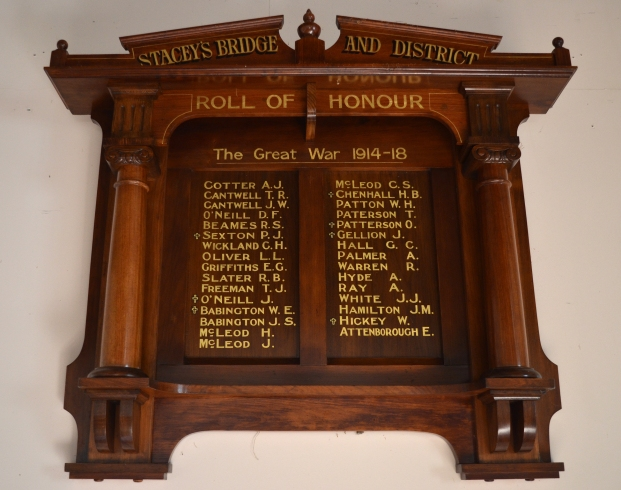 ed Stacey's Bridge Roll of Honour